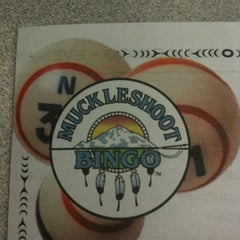 Photo taken at Muckleshoot Bingo by Bill O. on 10/20/2011