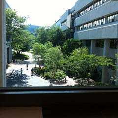 Photo taken at Snell Library by Kelsey S. on 8/5/2011