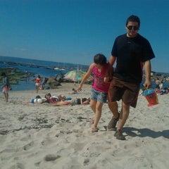 Photo taken at Playa Los Tubos by Dayana Q. on 1/21/2012