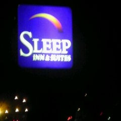 Photo taken at Sleep Inn & Suites by Nick M. on 4/19/2012