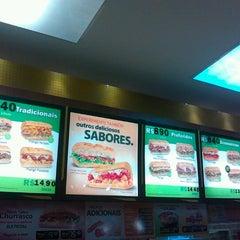 Photo taken at Subway by José Carlos de C. on 8/12/2012