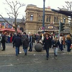 Photo taken at Mainz Hauptbahnhof by Ian W. on 2/20/2012