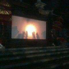 Photo taken at Taman Werdhi Budaya Art Center by Evie H. on 6/23/2012