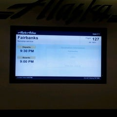Photo taken at Gate C11 by Anna G. on 3/3/2012