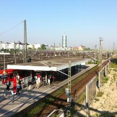 Photo taken at S Hackerbrücke by Kerstin on 7/27/2012