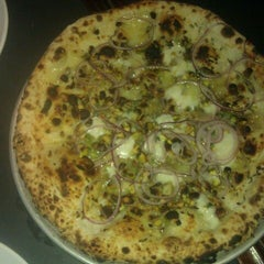 Photo taken at Pizzeria Stella by James G. on 8/26/2012