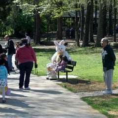 Photo taken at Nottoway Park by Andrew B. on 4/7/2012