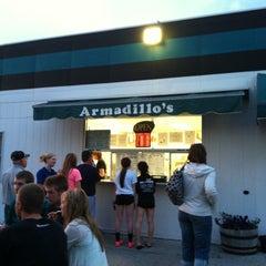 Photo taken at Armadillos Ice Cream Shoppe by Sara B. on 7/18/2012