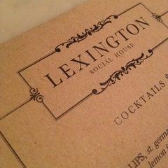 Photo taken at Lexington Social House by Yanni on 6/20/2012