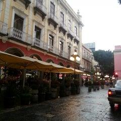 Photo taken at Los Portales de Puebla by Xavi B. on 7/25/2012
