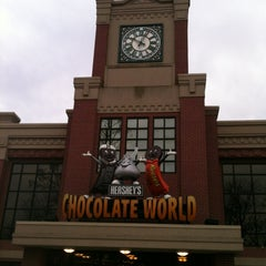 Photo taken at Hershey's Chocolate World by Haowei C. on 3/1/2012