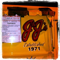 Photo taken at JJ's Hot Dog Truck by Rahul P. on 6/15/2012