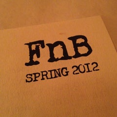 Photo taken at FnB by Claudine W. on 5/3/2012