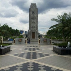 Photo taken at National Monument (Tugu Negara) by Joy S. on 4/8/2012
