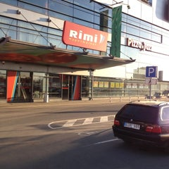 Photo taken at Rimi Hypermarket by Rimas B. on 4/11/2012