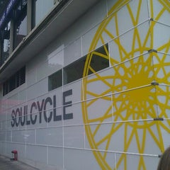 Photo taken at SoulCycle East 83rd by Sinead N. on 5/4/2012