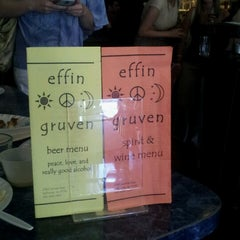 Photo taken at Effin' Gruven by Catherine J. on 6/23/2012
