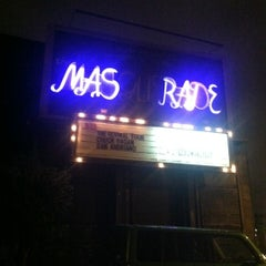 Photo taken at The Masquerade by Kelci J. on 3/24/2012