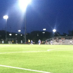 Photo taken at Overland Park Soccer Complex by chris h. on 8/11/2012