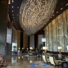 Photo taken at Shangri-la Hotel by Ron B. on 6/9/2012