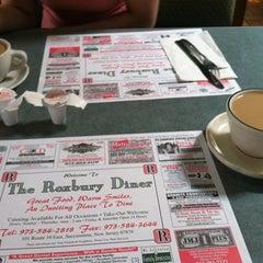 Photo taken at Roxbury Diner by Jeffrey N. on 4/15/2012