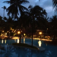 Photo taken at Patong Beach Hotel by Joshua S. on 5/29/2012