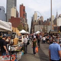 Photo taken at Hell's Kitchen Flea Market by Daniel H. on 4/15/2012