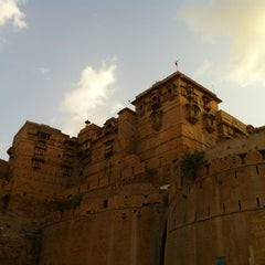 Photo taken at Jaisalmer Fort by Kan Y. on 8/6/2012