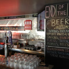 Photo taken at End Of The Line Public House by Ben R. on 4/11/2012