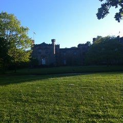 Photo taken at Towneley Hall by Rupert B. on 5/26/2012