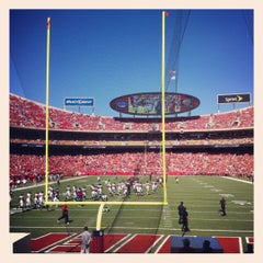 Photo taken at Arrowhead Stadium by J D. on 9/9/2012