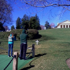 Photo taken at Edward Ted Kennedy Grave by Chad M. on 3/10/2012
