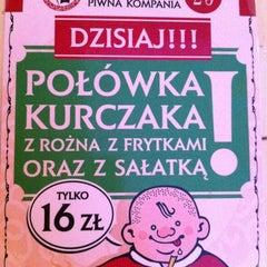Photo taken at Podwale 25 Kompania Piwna by Dmitry K. on 7/9/2012
