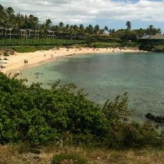 Photo taken at Kapalua Bay Beach by Felix C. on 5/14/2012