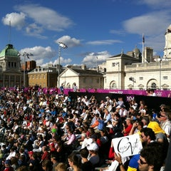 Photo taken at London 2012 Horse Guards Parade by sherahViVa™ on 8/16/2012
