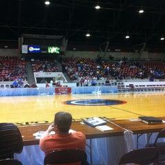 Photo taken at Taft Coliseum by Bobby W. on 3/14/2012