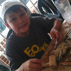 Photo taken at Salerno's Pizza and Sub Shop by Lisa W. on 8/11/2012