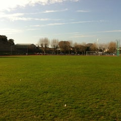 Photo taken at Stade du Fort Carré by Bern G. on 3/22/2012