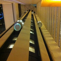 Photo taken at New York Marriott Marquis by Tony S. on 2/14/2012