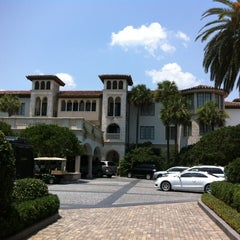Photo taken at The Cloister at Sea Island by Peter C. on 5/26/2012