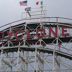 Photo taken at The Cyclone by Bill T. on 8/27/2012