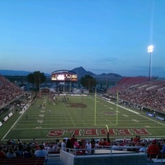 Photo taken at Sam Boyd Stadium by Nicolle S. on 9/9/2012