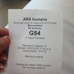 Photo taken at ARS Humano by Gina J. on 7/25/2012