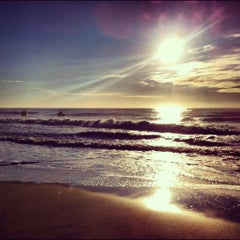 Photo taken at Manasquan Beach by Neal J. on 7/22/2012