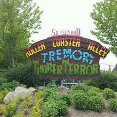 Photo taken at Silverwood Theme Park by 92.9 Z. on 5/20/2012