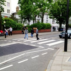 Photo taken at Abbey Road Crossing by JPGR on 6/1/2012