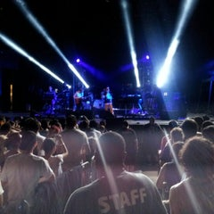 Photo taken at Celebrate Brooklyn!/Prospect Park Bandshell by Tim M. on 7/19/2012
