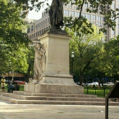 Photo taken at Franklin Square Park by David B. on 7/27/2012