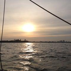 Photo taken at New York Harbor by Luigi A. on 7/6/2012