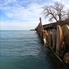 Photo taken at Chicago's Lakefront (Hyde Park) by Zeke F. on 3/11/2012